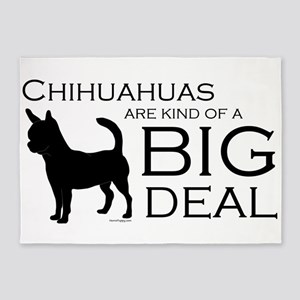 Chihuahua Big Deal 5'x7'Area Rug