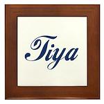 Tiya Framed Tile