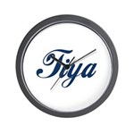 Tiya Wall Clock