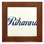 Rihanna Framed Tile