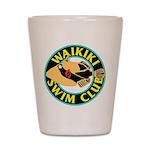 Waikiki Swim Club Logo Shot Glass