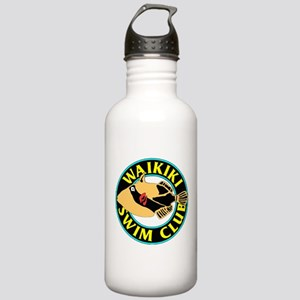 Waikiki Swim Club Logo Water Bottle