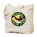 Waikiki Swim Club Logo Tote Bag