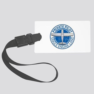 Aviation Private Pilot Luggage Tag