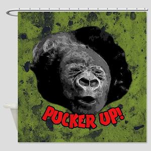Pucker Up Shower Curtain