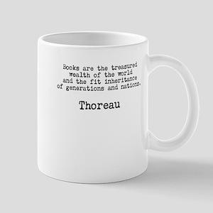 Thoreau: Treasured Wealth of the World Mug