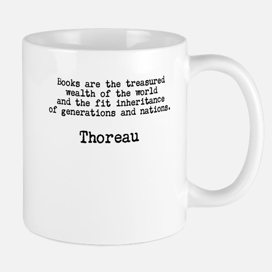 Thoreau: Treasured Wealth of the World Mug