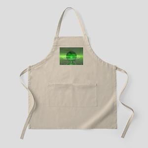 Electronic Green Saturn Apron