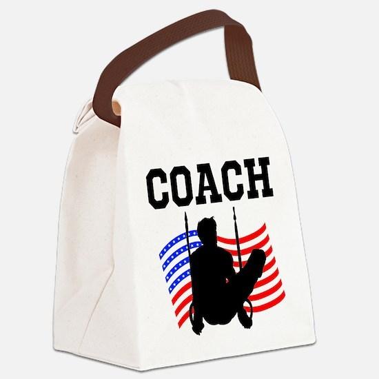 TOP GYMNAST COACH Canvas Lunch Bag