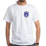Battistini White T-Shirt