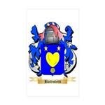 Battistetti Sticker (Rectangle 50 pk)