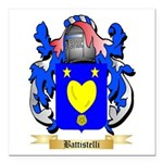 Battistelli Square Car Magnet 3