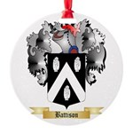 Battison Round Ornament