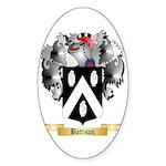 Battison Sticker (Oval 50 pk)