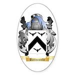 Battiscombe Sticker (Oval 50 pk)