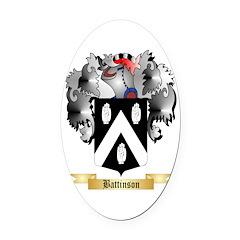 Battinson Oval Car Magnet