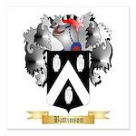 Battinson Square Car Magnet 3