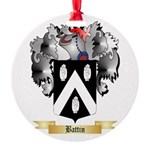 Battin Round Ornament