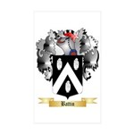 Battin Sticker (Rectangle 50 pk)