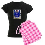 Batthew Women's Dark Pajamas