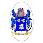 Batthew Sticker (Oval)