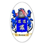 Batthew Sticker (Oval 50 pk)