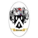 Batteson Sticker (Oval 50 pk)