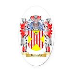 Battersby Oval Car Magnet