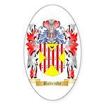 Battersby Sticker (Oval)
