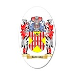 Battersby 35x21 Oval Wall Decal