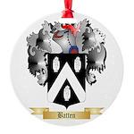 Batten Round Ornament