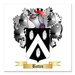 Batten Square Car Magnet 3