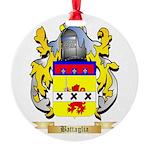 Battaglia Round Ornament