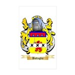 Battaglia Sticker (Rectangle 50 pk)