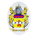 Battaglia Ornament (Oval)