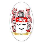 Batt Sticker (Oval)