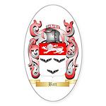 Batt Sticker (Oval 50 pk)