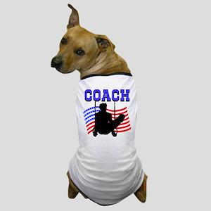 SUPER GYMNAST COACH Dog T-Shirt
