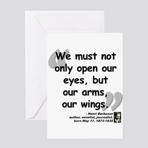French words stationery cafepress barbusse wings quote greeting card m4hsunfo