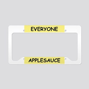LATKES License Plate Holder