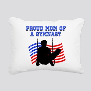 PROUD GYMNAST MOM Rectangular Canvas Pillow