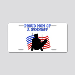 PROUD GYMNAST MOM Aluminum License Plate