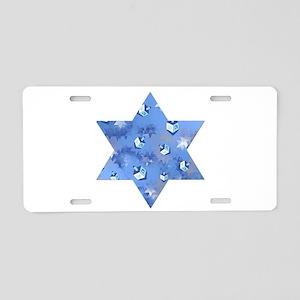 Judaica Dreidels Stars Star Of David Aluminum Lice