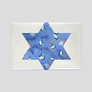 Judaica Dreidels Stars Star Of David Rectangle Mag