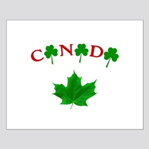 Canadian Irish Small Poster