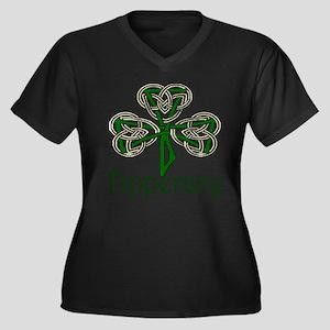 Tipperary Shamrock Plus Size T-Shirt