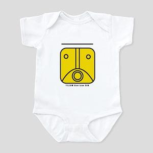 YELLOW Overtone SUN Infant Bodysuit