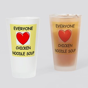 CHICKENSOUP Drinking Glass