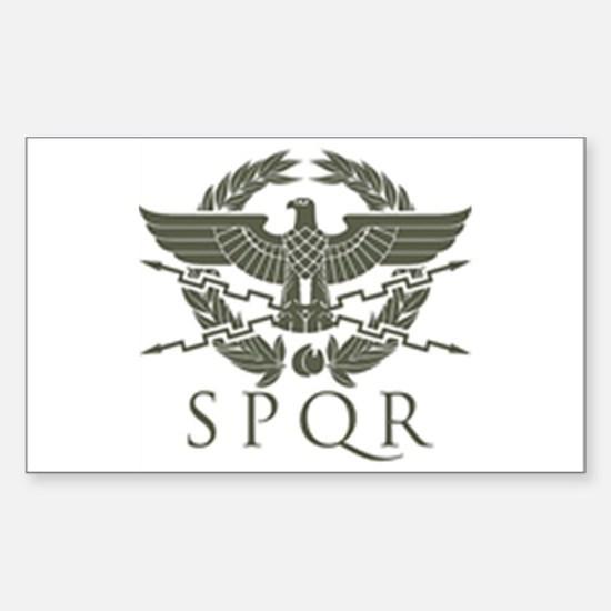 Roman Empire SPQR Decal