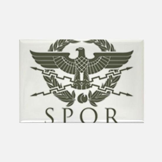 Roman Empire SPQR Rectangle Magnet